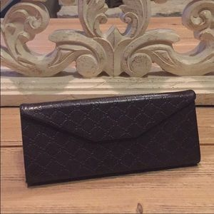 Authentic brown Gucci sunglass case